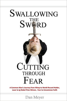 """Swallowing the Sword, Cutting Through Fear"" Book"