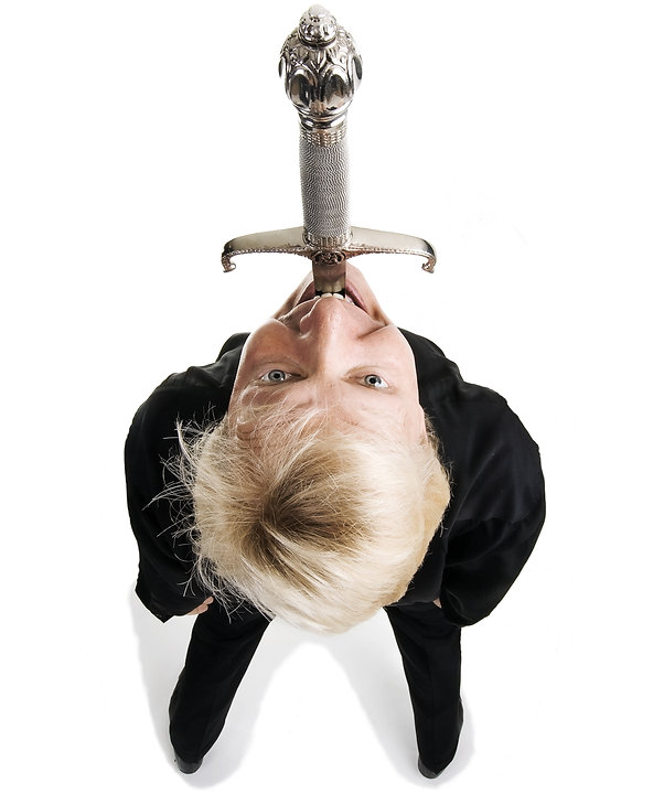 America's Got Talent World's Best Sword Swallower Dan Meyer