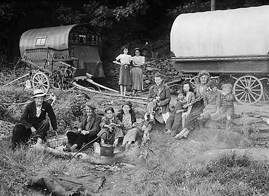 H Gypsies_camping_-_probably_Swansea_(86