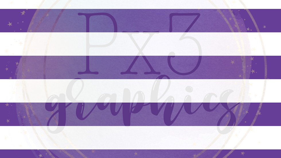 Big purple stripes