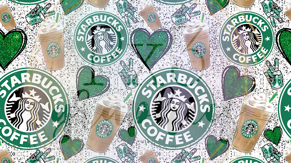 Coffee lovers splatters