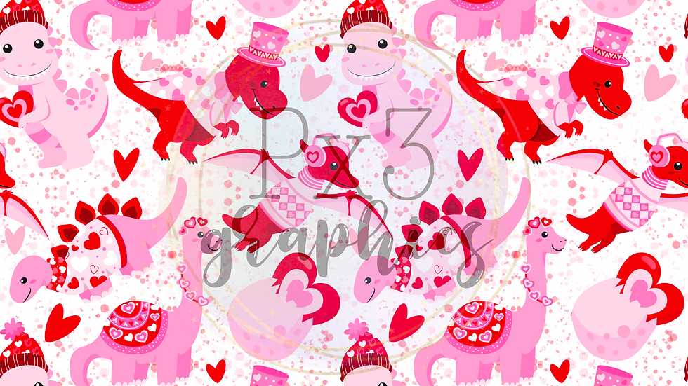Valentine's dinos