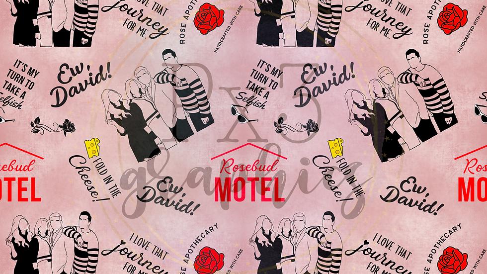 David's Motel - pink