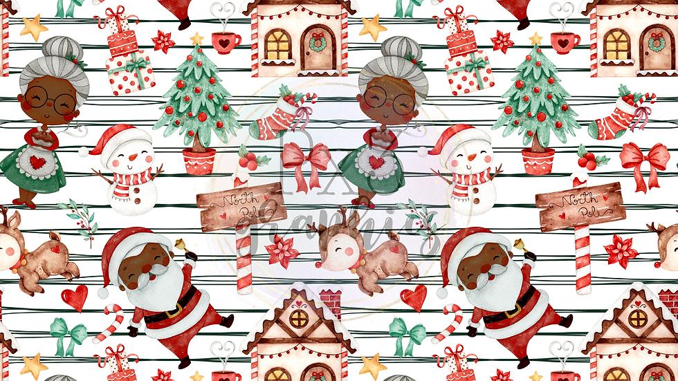 Brown Mr & Mrs Claus