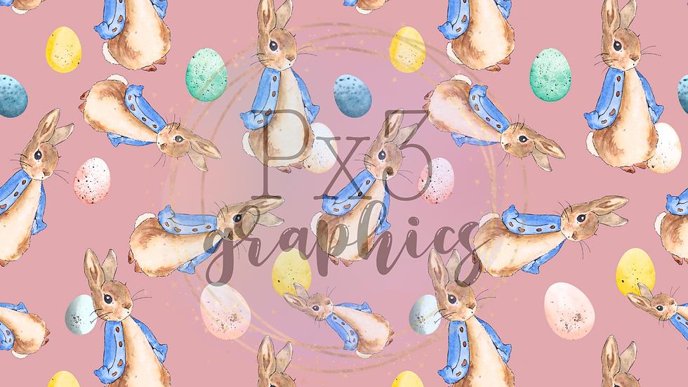 Peter Rabbit - pink