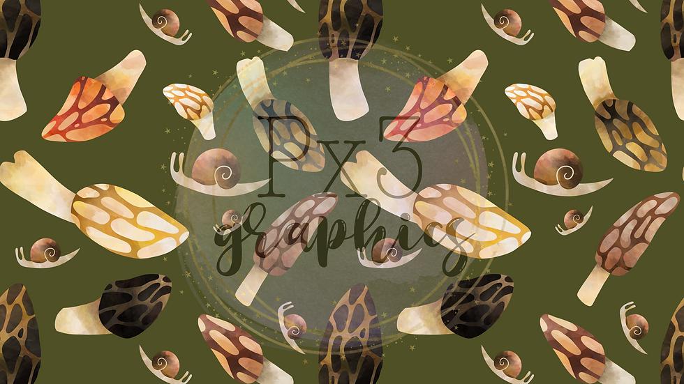 Snails & morels