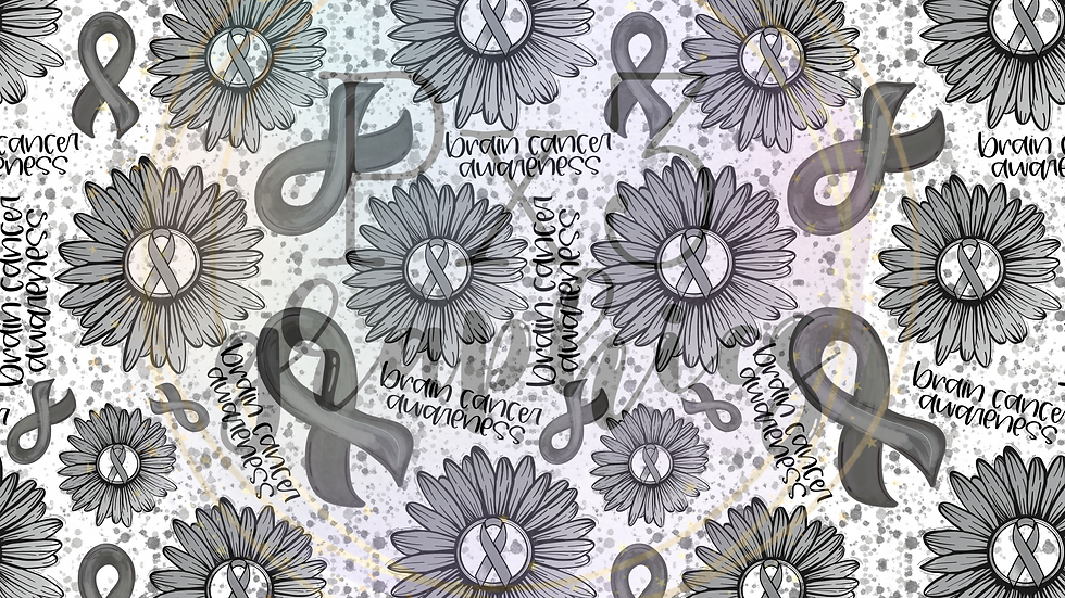 Grey ribbon sunflower