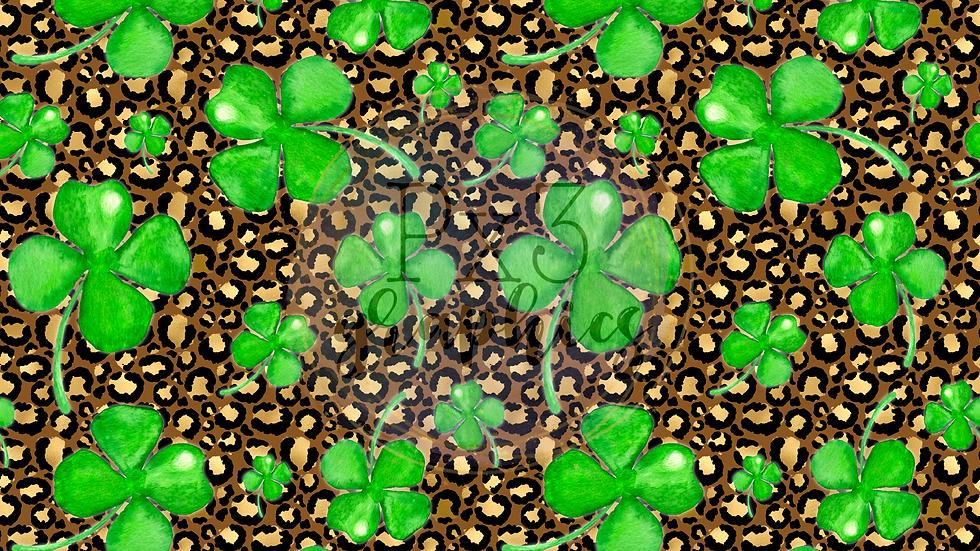 4 leaf clovers - leopard