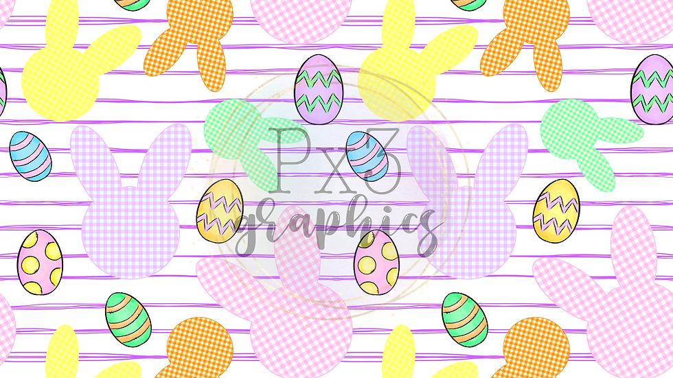 Bunnies & eggs - girl