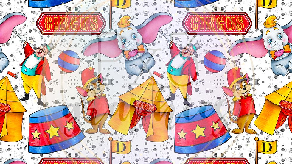 Circus time splatters