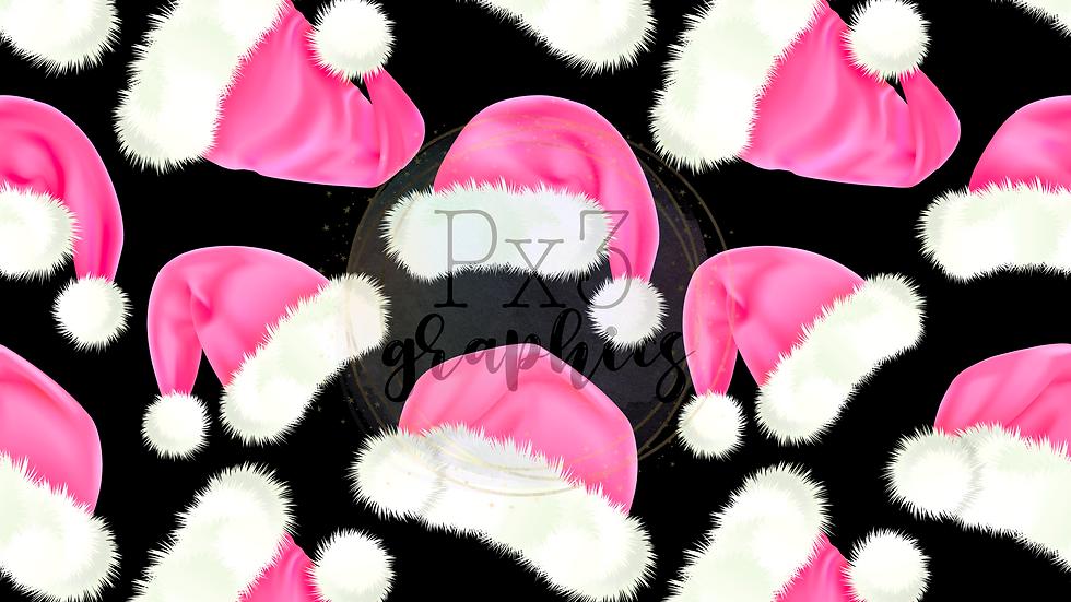 Pink Santa hats