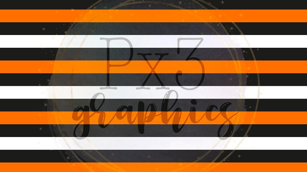 Halloween stripes 2