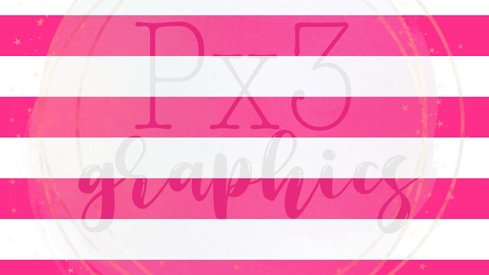 Big pink stripes
