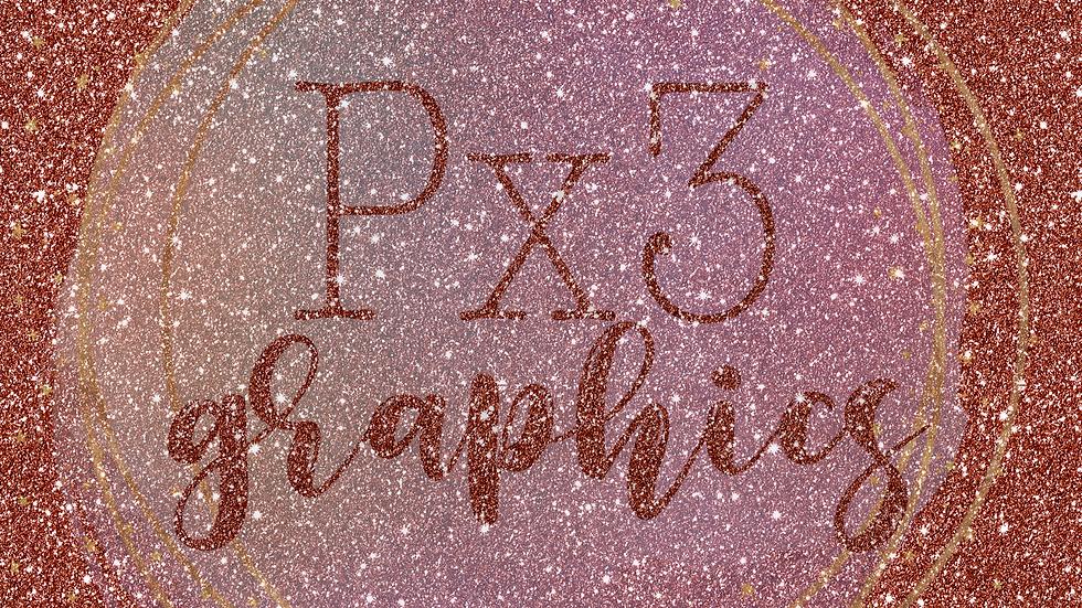 Bright copper glitter