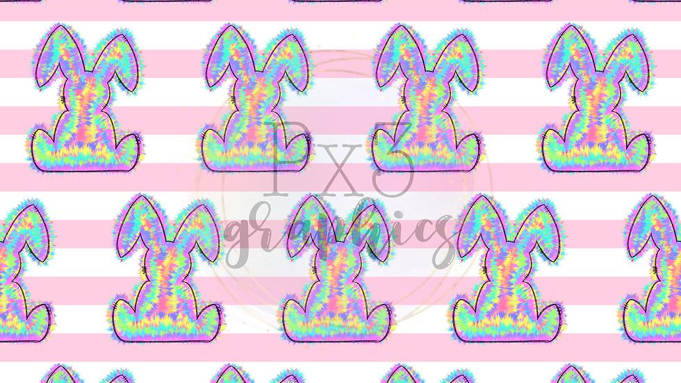 Tie dye bunny 2