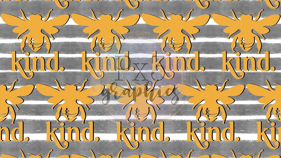 Bee kind stripes