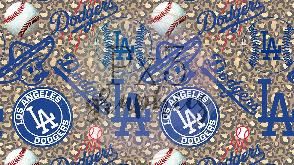 LA baseball - leopard