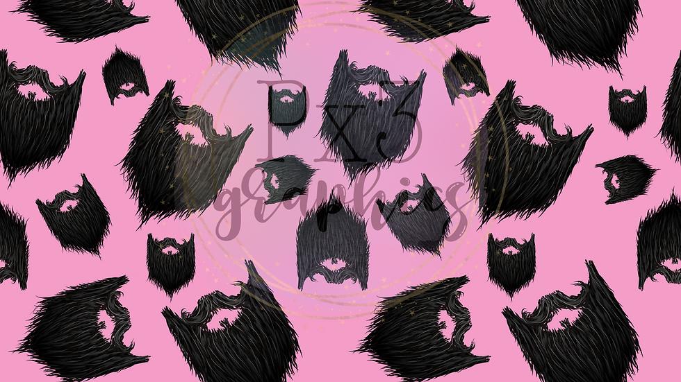 Beards - pink