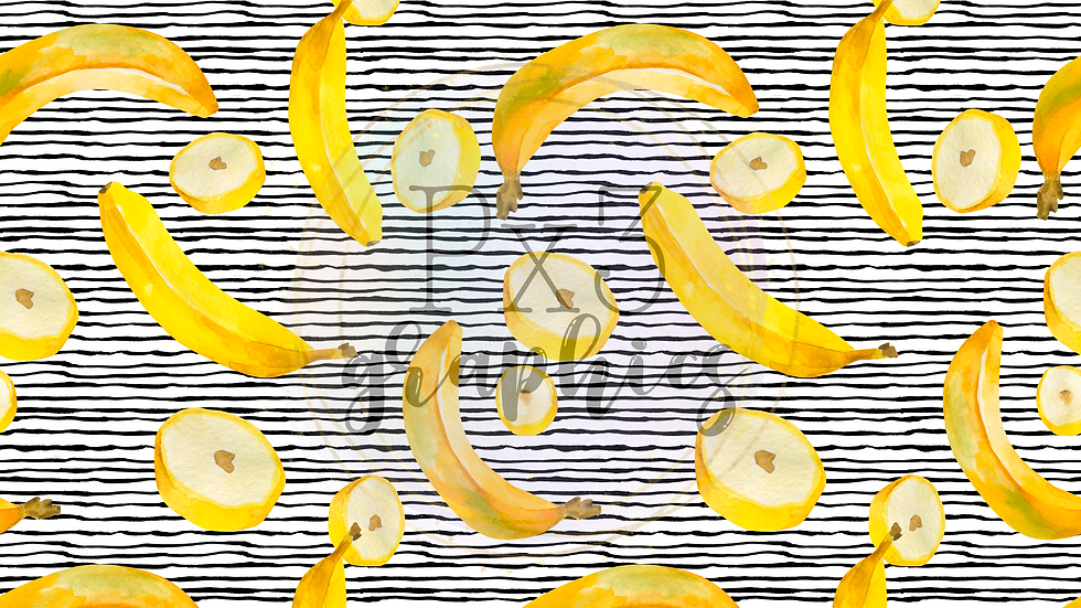 Bananas - stripes
