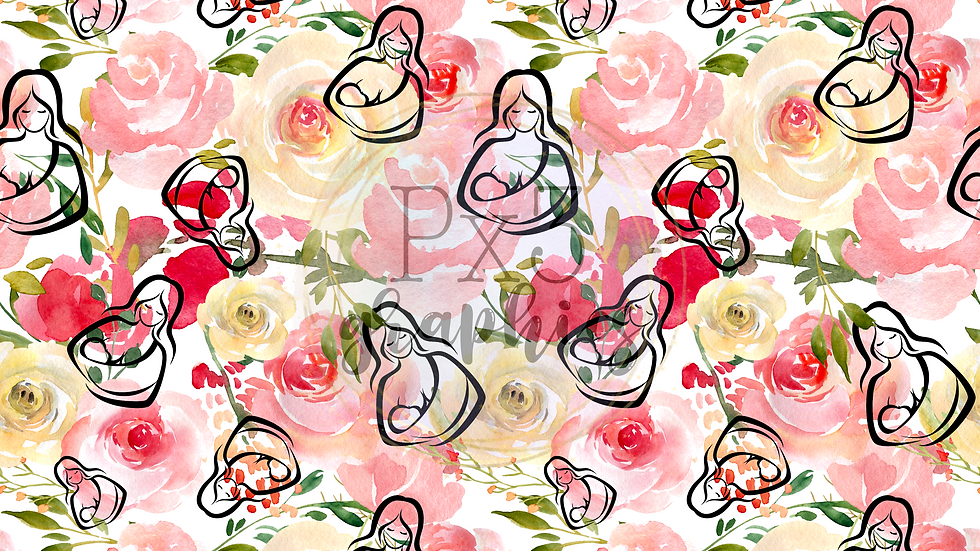 Floral breastfeeding