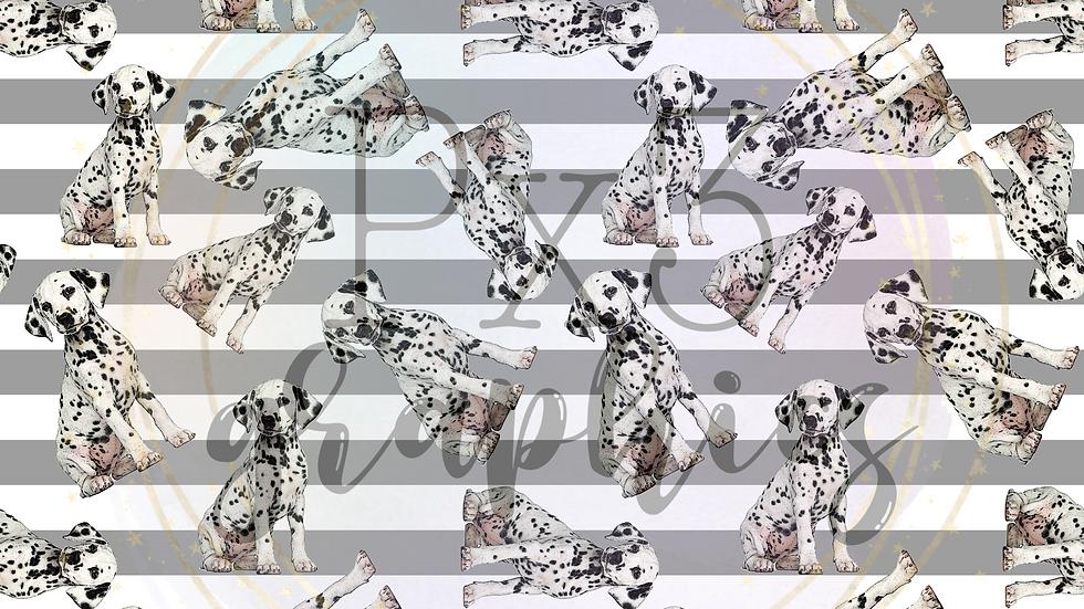 Dalmatian stripes