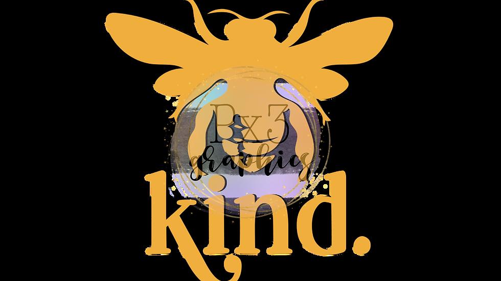Bee kind stripes PNG