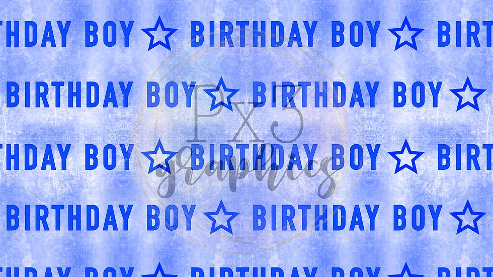 Birthday boy - grunge