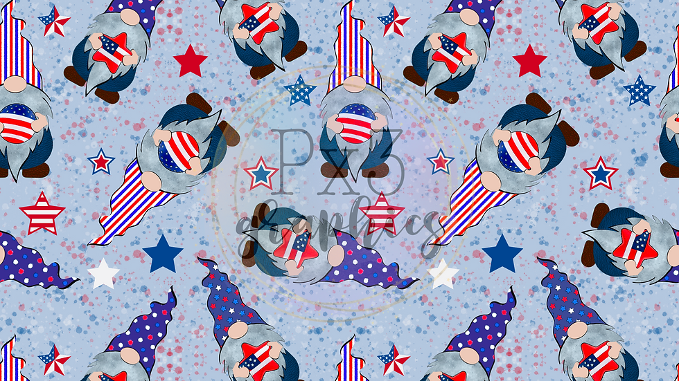 4th of July gnomes