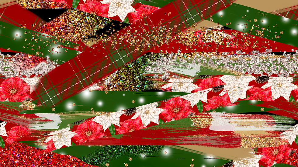Christmas brushstrokes