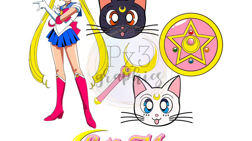 Miss Moon 10 PNG