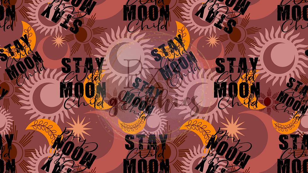 Stay wild, moon child - girl