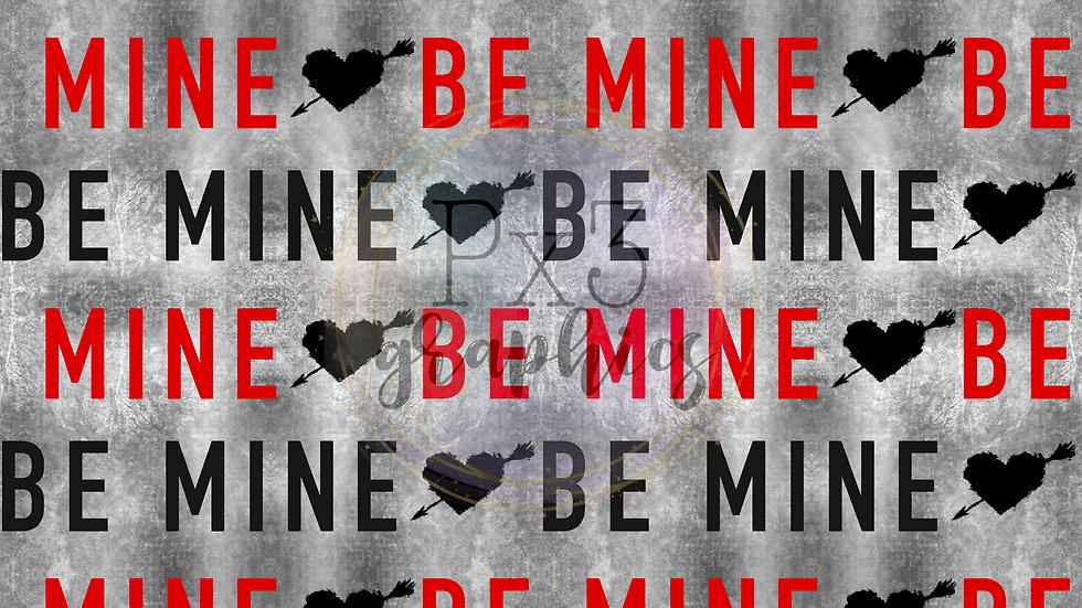 Be mine grunge - black/red