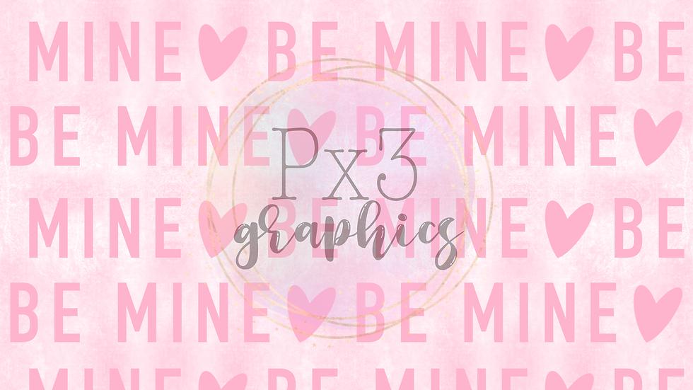 Be mine grunge - light pink