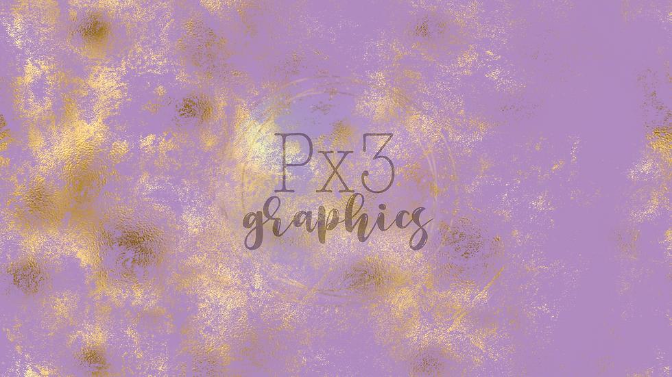 Lavender & gold grunge