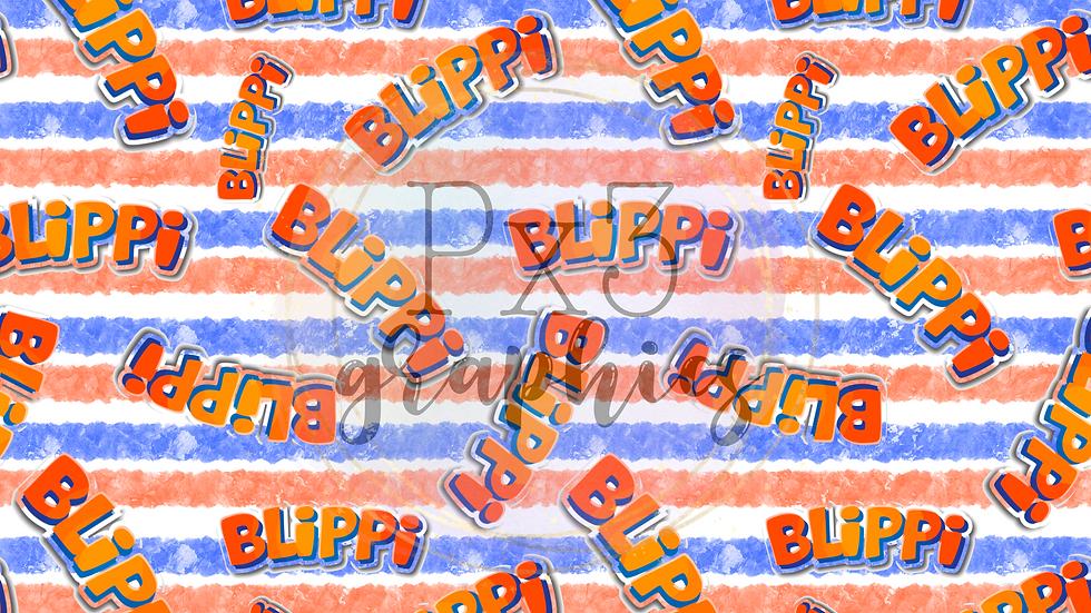 B man - stripes