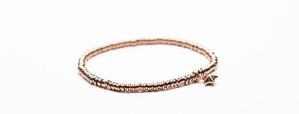 Eternal Love | Rose Gold Twinkle Star Charm Bracelet