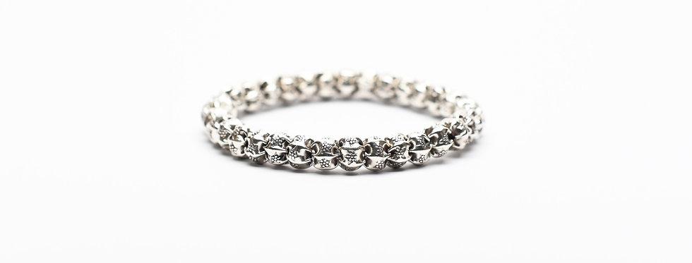 balinese silver beads bracelet
