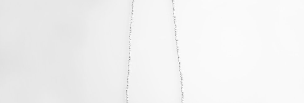 Silver Onyx Necklace