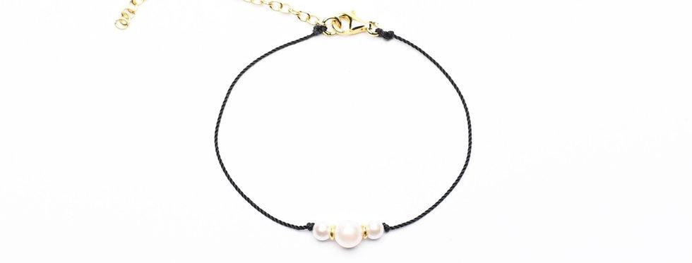 Akoya Pearl Premium String Bracelet  - Trinity