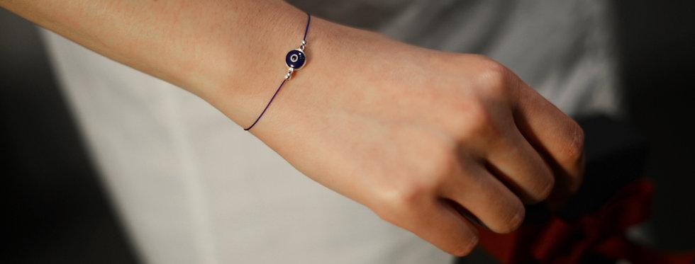 Evil Eye Amulet String Bracelet