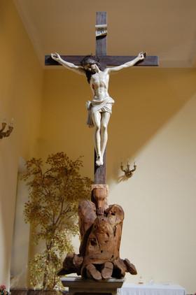 Crocifisso ligneo donato dai Padri Passionisti