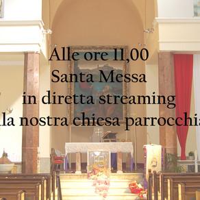 Santa Messa di oggi in diretta