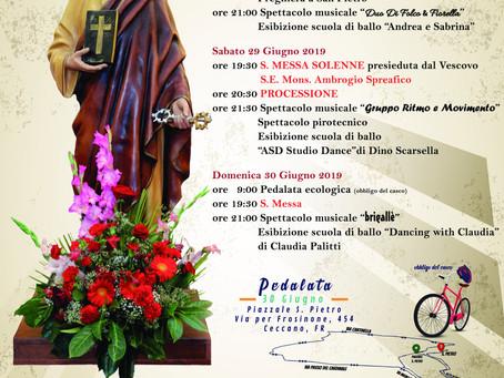 Festeggiamenti in onore di San Pietro Apostolo
