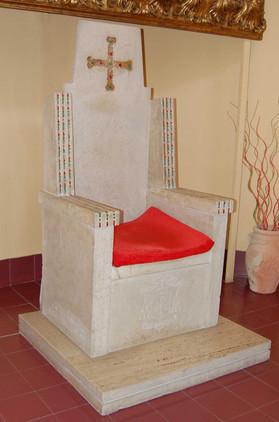 Il trono in stile bizantino