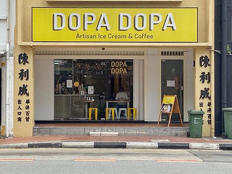 Dopa Dopa Creamery shopfront
