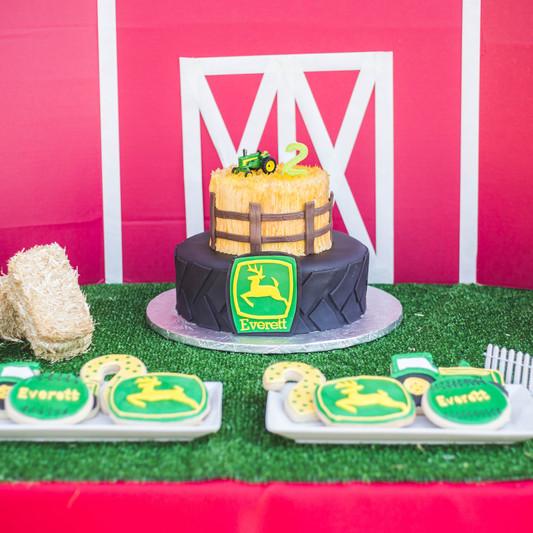 John Deer Farm Birthday Party Planning
