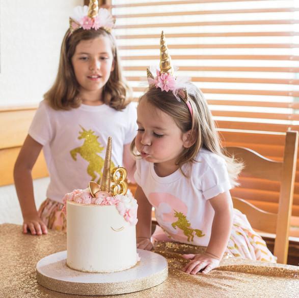 Unicorn 3rd Birthday Party Planning
