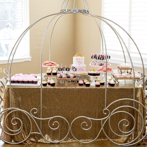 Cinderella Party Castle Shoot Birthday Party Planning