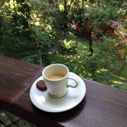 café no colaboratório