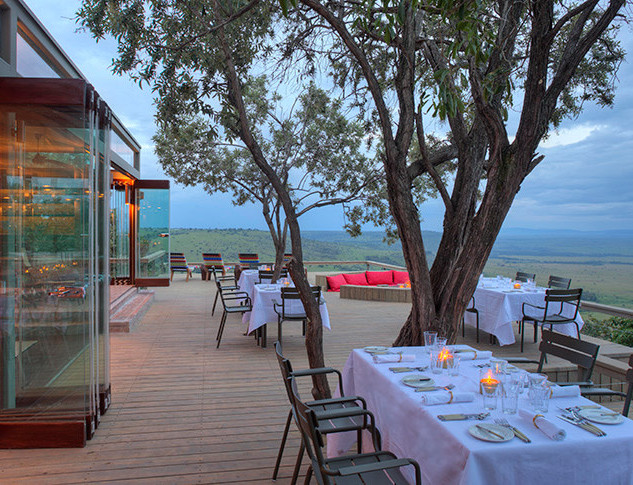 Angama Luxury Camp Overlooking Masai Mara